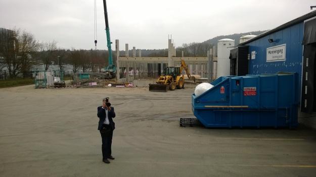 Nibes testanläggning som byggs i Kasendorf