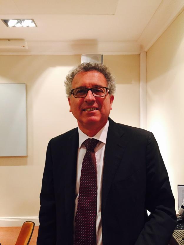Luxemburgs finansminister Pierre Gramegna. Foto: SIX News