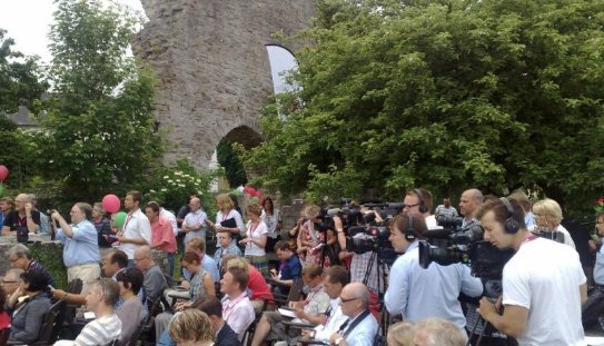 Almedalsveckan i Visby. Foto: SIX News