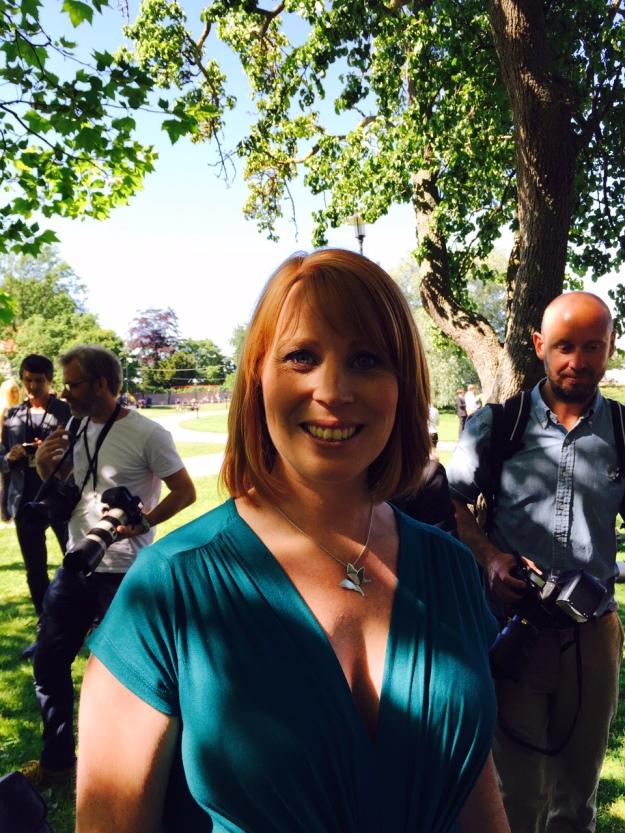 Centerpartiets ordförande Annie Lööf. Foto: SIX News