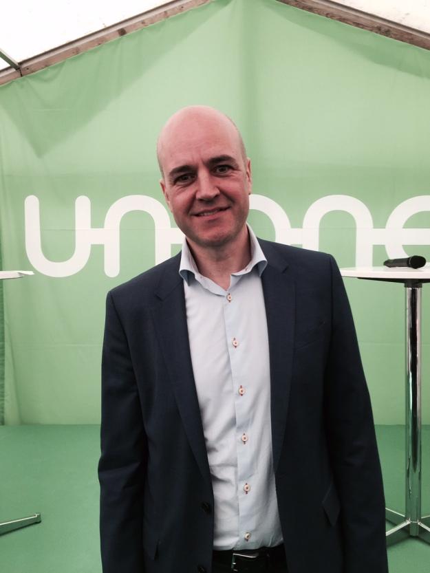Tidigare statsminister Fredrik Reinfeldt. Foto: SIX News