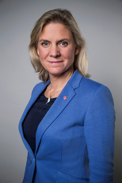 Finansminister Magdalena Andersson. Foto: Kristian Pohl/Regeringskansliet.