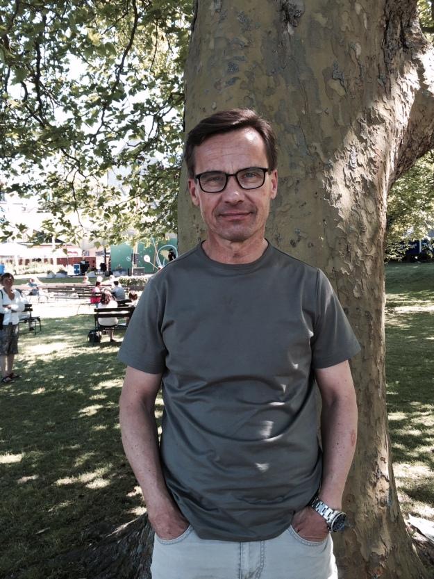 Moderaternas ekonomisk-politiska talesperson Ulf Kristersson. Foto: SIX News