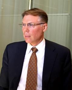 IMF-ekonomen Craig Beaumont. Foto: SIX News