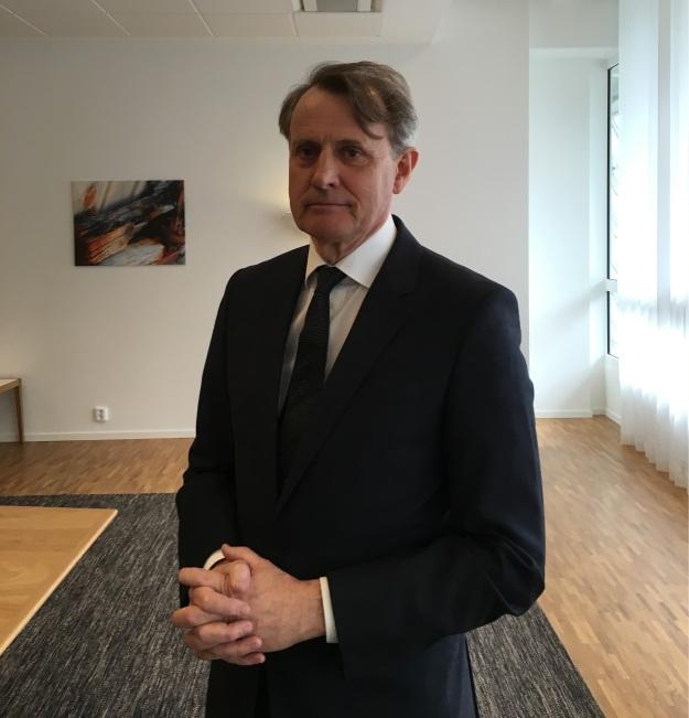 Swedbanks avgående styrelseordförande Anders Sundström. Foto: SIX News.