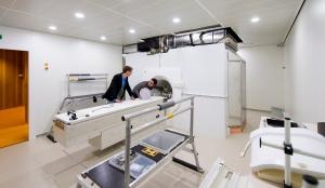 Elektas MRI-styrda strålbehandlingssystem Atlantic. Källa: Elekta