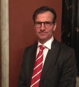 Finansinspektionens generaldirektör Erik Thedéen vid Affärsvärlden Bank & Finans Outlook. Foto: SIX News