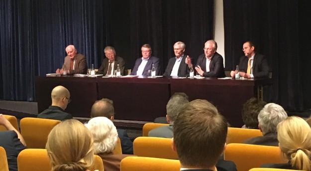 Finanspolitiska rådets seminarium om ekonomiska kriser. Foto: SIX News
