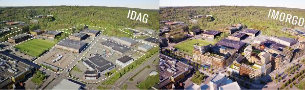 nordöstra Högsbo - Södra Änggården