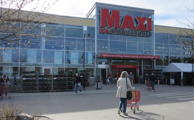ICA Maxi i Nacka. Källa: SIX News