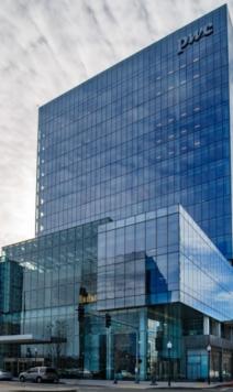 Skanskas försäljning av byggnaden Seaport i Boston bidrog till resultatet i första kvartalet. Bild från dagens presentationsmaterial. Källa: group.skanska.com