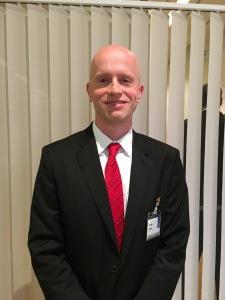 Martin Cihak vid IMF. Foto: SIX News